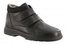 Ботинки мужские зимние Solidus Natura Man Stiefel черные