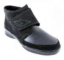 Ботинки женские зимние Solidus Hedda (Solicare Soft) чёрные